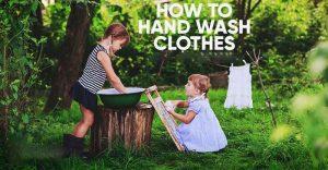 شستشوی لباس با دست-مینی واش